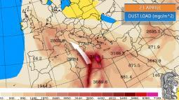 SABBIA DESERTICA IN ARRIVO soprattutto da Pasquetta con i venti di Scirocco: le conseguenze