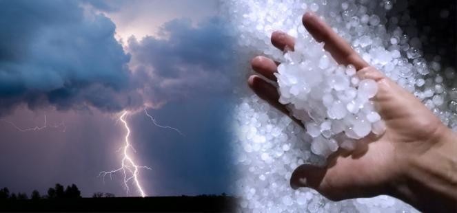 Nuova PERTURBAZIONE: piogge, TEMPORALI E GRANDINE. Situazione e previsioni